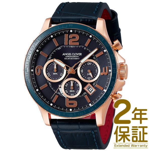 Angel Clover エンジェル クローバー 腕時計 TCS44PG-NV メンズ TIME CRAFT SOLAR タイムクラフトソーラー クロノグラフ ソーラー