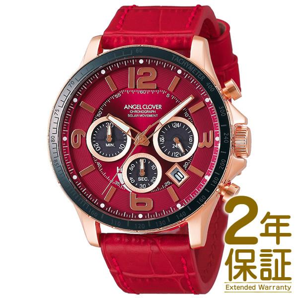 Angel Clover エンジェル クローバー 腕時計 TCS44PG-RE メンズ TIME CRAFT SOLAR タイムクラフトソーラー クロノグラフ ソーラー