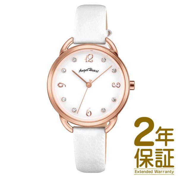 【国内正規品】Angel Heart エンジェル ハート 腕時計 VI31P-WH レディース Venus ヴィーナス スワロフスキークリスタル ソーラー