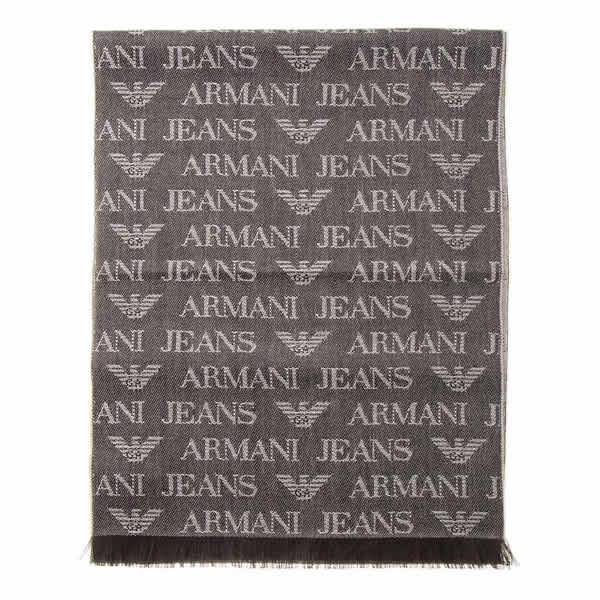 ARMANI JEANS アルマーニジーンズ 60サイズ aj-934504-cd786-00152 メンズ マフラー ストール