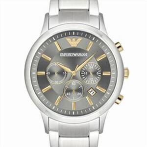 【並行輸入品】EMPORIO ARMANI エンポリオアルマーニ 腕時計 AR11047 メンズ RENATO レナート クロノグラフ クオーツ