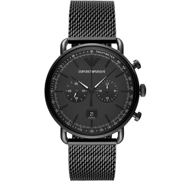 【並行輸入品】EMPORIO ARMANI エンポリオアルマーニ 腕時計 AR11264 メンズ Aviator アビエイター クオーツ
