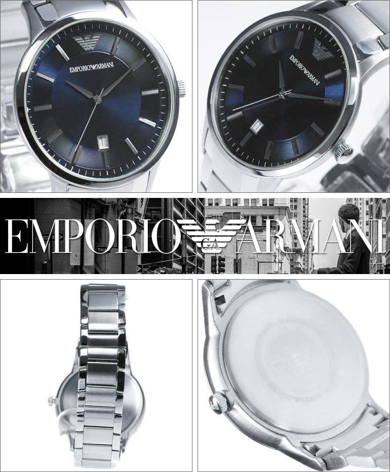 9bd3434ce8 ... EMPORIOARMANIエンポリオアルマーニ腕時計AR2477メンズClassicクラシック  EMPORIOARMANIエンポリオアルマーニ腕時計AR2477メンズClassicクラシック