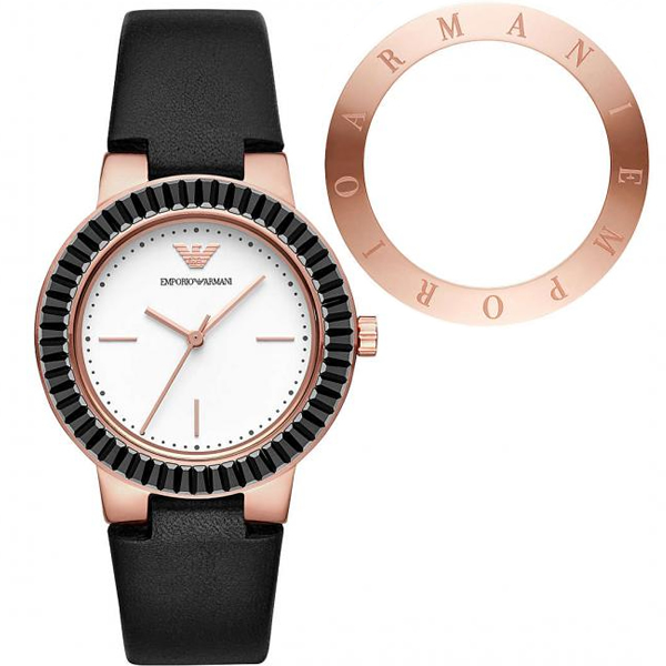 【並行輸入品】EMPORIO ARMANI エンポリオアルマーニ 腕時計 AR80027 レディース GRETA クオーツ