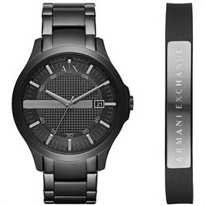 【並行輸入品】アルマーニ エクスチェンジ ARMANI EXCHANGE 腕時計 AX7101 メンズ ブレスレット セット クオーツ