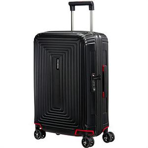 Samsonite サムソナイト スーツケース 65752 4386 55cm 38L Neopulse Spinner ネオパルス スピナー キャリーバッグ キャリーケース マットブラック ライン