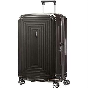 【ラッピング不可】Samsonite サムソナイト スーツケース 65753 2368 69cm 74L Neopulse Spinner ネオパルススピナー メタリックブラック キャリーバッグ キャリーケース