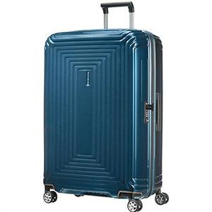 【12月上~中旬発送予定】【ラッピング不可】Samsonite サムソナイト 65754 1541 75cm 94L スーツケース Neopulse Spinner ネオパルス スピナー キャリーバッグ キャリーケース メタリック ブルー ライン