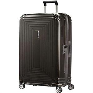 Samsonite サムソナイト スーツケース 65754 2368 75cm 94L Neopulse Spinner ネオパルス スピナー キャリーバッグ キャリーケース メタリック ブラック ライン