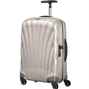 【ラッピング不可】Samsonite サムソナイト スーツケース 73349 1673 Cosmolite Spinner コスモライトスピナー 55cm 36L パール キャリーバッグ キャリーケース