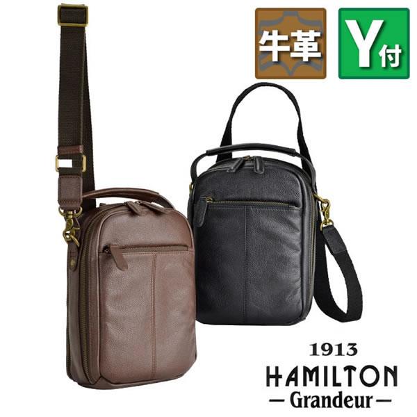 HAMILTON Grandeur ハミルトングランジャー 16441 メンズ ショルダーバッグ レザーバッグ ハンドバッグ