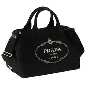 PRADA プラダ 100サイズ 1BG642CANAPA-NER ハンドバッグ