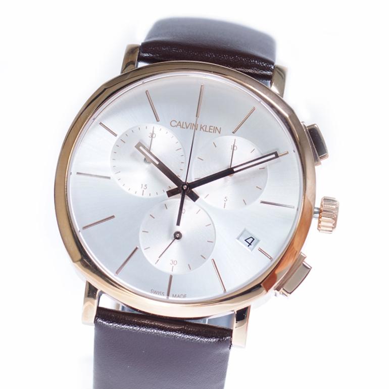 【並行輸入品】Calvin Klein カルバンクライン CK 腕時計 K8Q376G6 メンズ Posh ポッシュ クロノグラフ クオーツ