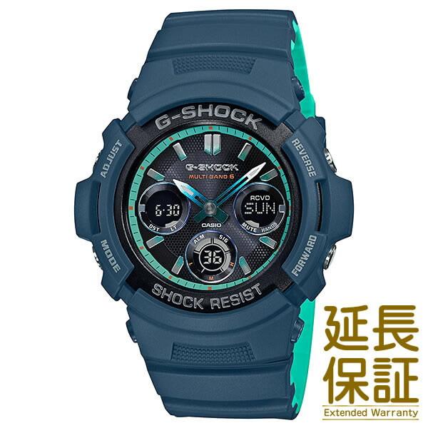 【正規品】CASIO カシオ 腕時計 AWG-M100SCC-2AJF メンズ G-SHOCK Gショック タフソーラー