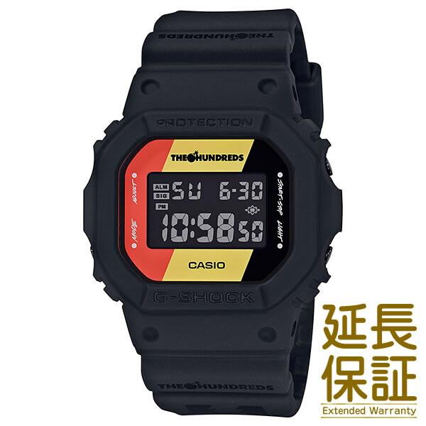 【国内正規品】CASIO カシオ 腕時計 DW-5600HDR-1JR メンズ G-SHOCK Gショック THE HUNDREDS コラボレーションモデル クォーツ