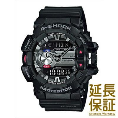 【国内正規品】CASIO カシオ 腕時計 GBA-400-1AJF メンズ G-SHOCK ジーショック G'MIX ジーミックス モバイルリンク