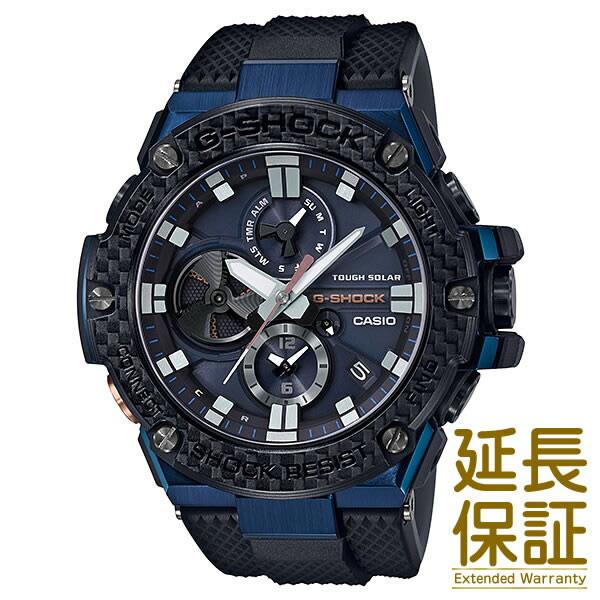 【正規品】CASIO カシオ 腕時計 GST-B100XB-2AJF メンズ G-SHOCK Gショック G-STEEL Gスチール Bluetooth対応 クロノグラフ タフソーラー