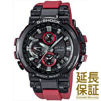 【国内正規品】CASIO カシオ 腕時計 MTG-B1000B-1A4JF メンズ G-SHOCK ジーショック MT-G ソーラー電波 Bluetooth機能 タフソーラー