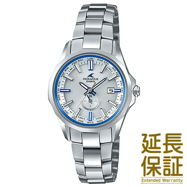 【正規品】CASIO カシオ 腕時計 OCW-S350F-7AJF レディース OCEANUS オシアナス Manta マンタ ペアウォッチ (メンズはOCW-S4000F-7AJF) タフソーラー