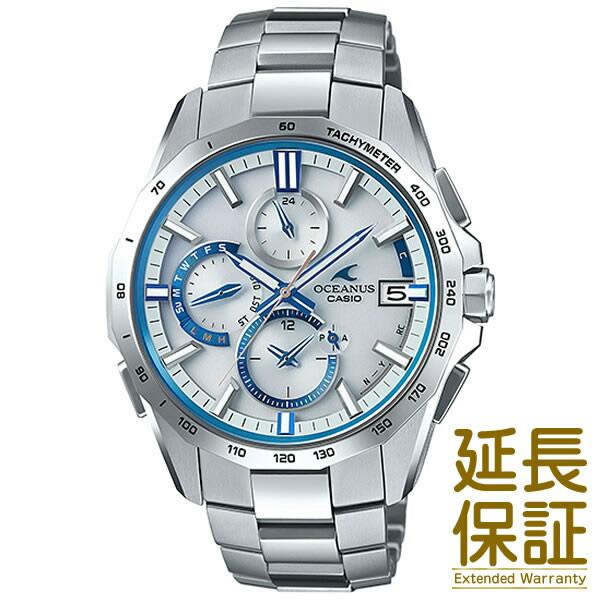 【正規品】CASIO カシオ 腕時計 OCW-S4000F-7AJF メンズ OCEANUS オシアナス Manta マンタ ペアウォッチ (レディースはOCW-S350F-7AJF) タフソーラー