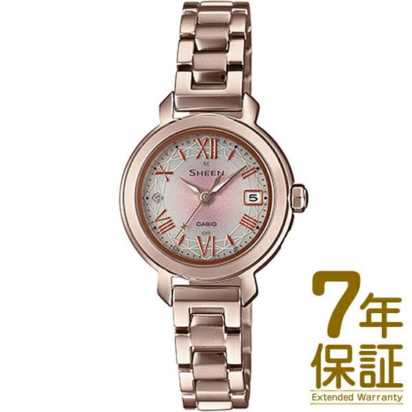 【正規品】CASIO カシオ 腕時計 SHW-5300CG-4AJF レディース SHEEN シーン タフソーラー 電波修正