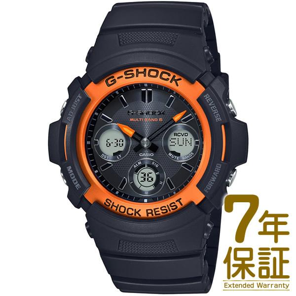【正規品】CASIO カシオ 腕時計 AWG-M100SF-1H4JR メンズ G-SHOCK Gショック FIRE PACKAGE ファイアー・パッケージ 電波ソーラー