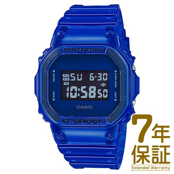 【正規品】CASIO カシオ 腕時計 DW-5600SB-2JF メンズ G-SHOCK Gショック Color Skeleton Series カラースケルトンシリーズ