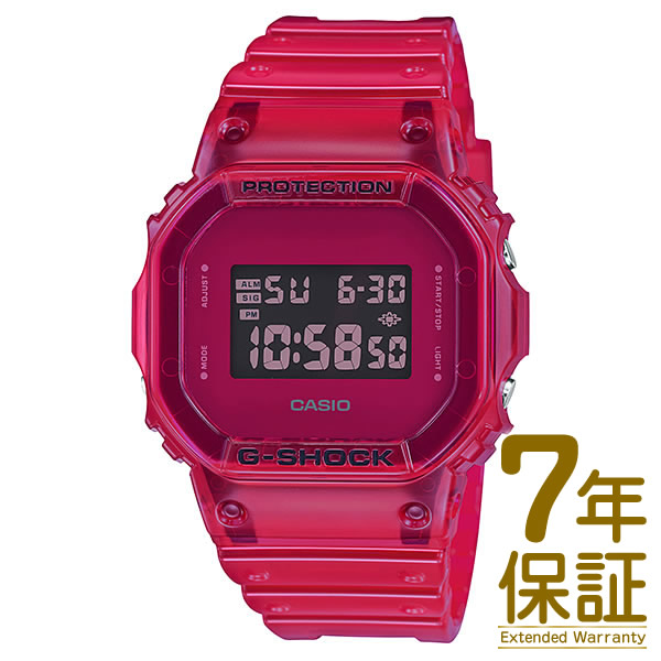 【正規品】CASIO カシオ 腕時計 DW-5600SB-4JF メンズ G-SHOCK Gショック Color Skeleton Series カラースケルトンシリーズ