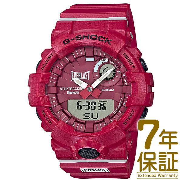 【国内正規品】CASIO カシオ 腕時計 GBA-800EL-4AJR メンズ G-SHOSK Gショック EVERLAST エバーラスト コラボモデル Bluetooth対応