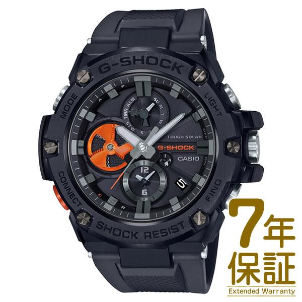 【正規品】CASIO カシオ 腕時計 GST-B100B-1A4JF メンズ G-SHOCK Gショック G-STEEL Gスチール Bluetooth対応