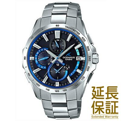 【正規品】CASIO カシオ 腕時計 OCW-S4000-1AJF メンズ オシアナスマンタ クロノグラフ タフソーラー