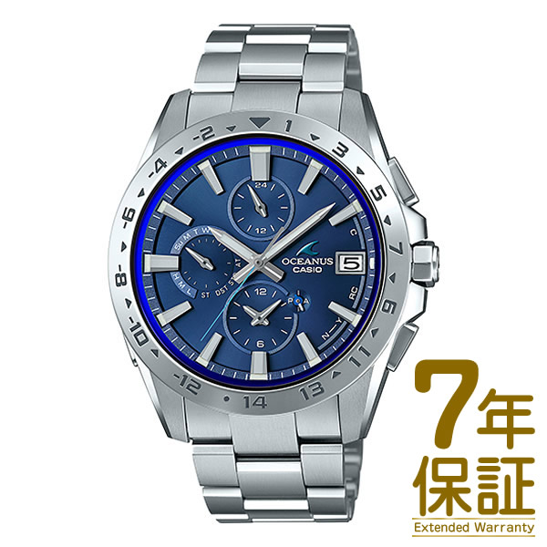 【正規品】CASIO カシオ 腕時計 OCW-T3000-2AJF メンズ OCEANUS オシアナス Bluetooth対応 電波ソーラー