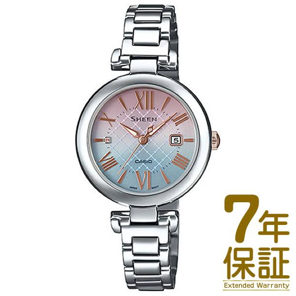 【正規品】CASIO カシオ 腕時計 SHS-4502LTE-7AJR レディース SHEEN シーン スワロフスキー