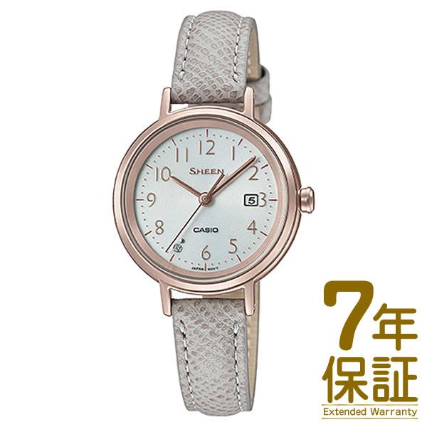 【国内正規品】CASIO カシオ 腕時計 SHS-D100CGL-7AJF レディース SHEEN シーン スワロフスキークリスタル ソーラー