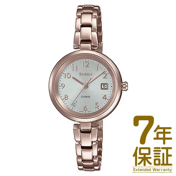 【正規品】CASIO カシオ 腕時計 SHS-D200CG-4AJF レディース SHEEN シーン スワロフスキークリスタル ソーラー