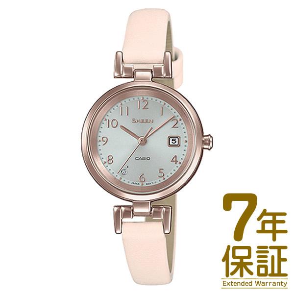 【正規品】CASIO カシオ 腕時計 SHS-D200CGL-4AJF レディース SHEEN シーン スワロフスキークリスタル ソーラー