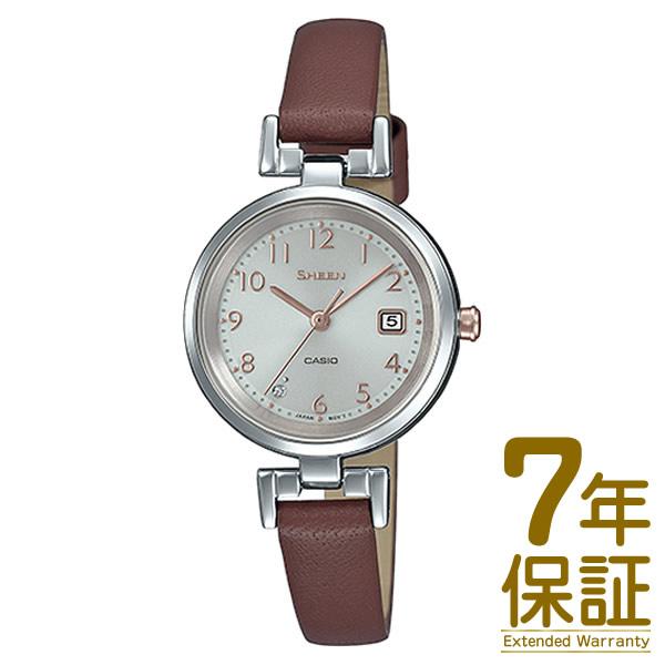 【正規品】CASIO カシオ 腕時計 SHS-D200L-4AJF レディース SHEEN シーン スワロフスキークリスタル ソーラー