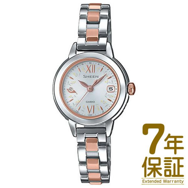 【正規品】CASIO カシオ 腕時計 SHW-5200DSG-7AJF レディース SHEEN シーン NATURAL GARDEN ナチュラルガーデン 電波ソーラー