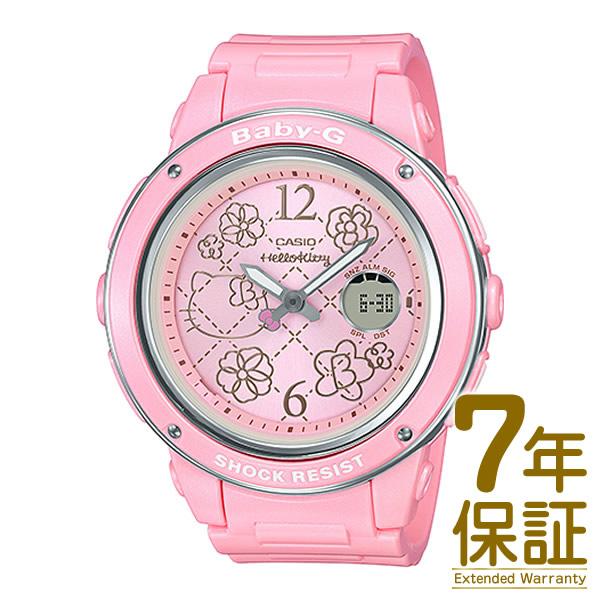 【正規品】CASIO カシオ 腕時計 BGA-150KT-4BJR レディース BABY-G ベビーG HELLO KITTY コラボレーションモデル