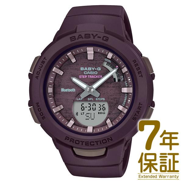 【正規品】CASIO カシオ 腕時計 BSA-B100AC-5AJF レディース BABY-G ベビーG G-SQUAD ジースクワッド スマートフォンリンク Bluetooth