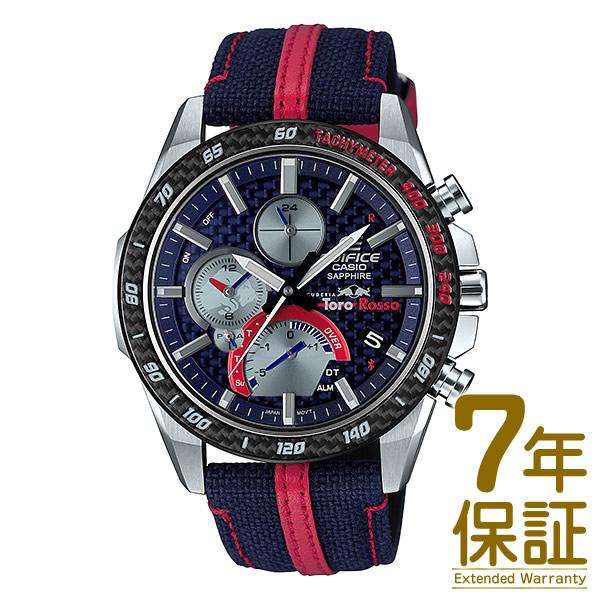 【正規品】CASIO カシオ 腕時計 EQB-1000TR-2AJR メンズ EDIFICE エディフィス スクーデリア・トロロッソ クロノグラフ Bluetooth対応