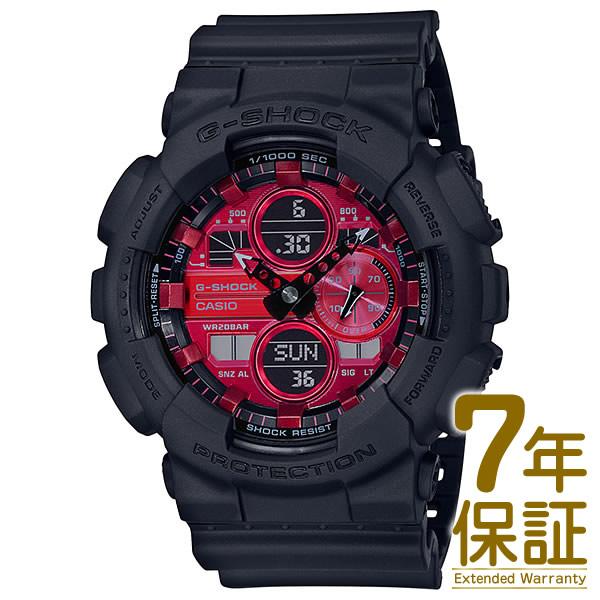 【正規品】CASIO カシオ 腕時計 GA-140AR-1AJF メンズ G-SHOCK Gショック Black and Red Series