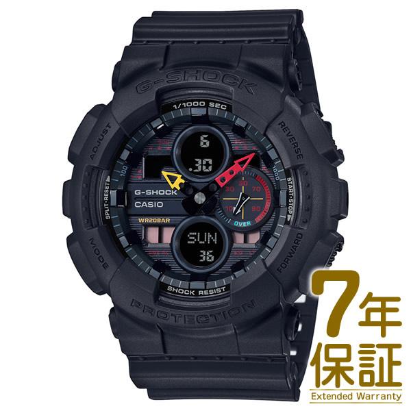 【正規品】CASIO カシオ 腕時計 GA-140BMC-1AJF メンズ G-SHOCK Gショック SPECIAL COLOR Black × Neon