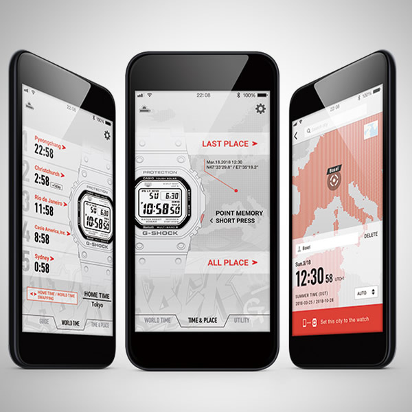【4月新作・入荷次第発送】【正規品】CASIO カシオ 腕時計 GMW-B5000G-1JF メンズ G-SHOCK Gショック 電波ソーラー Bluetooth対応