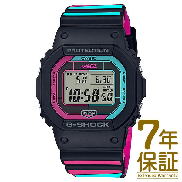【正規品】CASIO カシオ 腕時計 GW-B5600GZ-1JR メンズ G-SHOCK Gショック G-SHOCK×Gorillazコラボレーションモデル 電波ソーラー Bluetooth対応