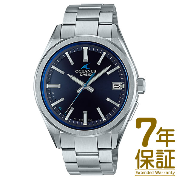 【4月新作・入荷次第発送】【正規品】CASIO カシオ 腕時計 OCW-T200S-1AJF メンズ OCEANUS オシアナス 3 HANDS MODELS 電波ソーラー Bluetooth対応