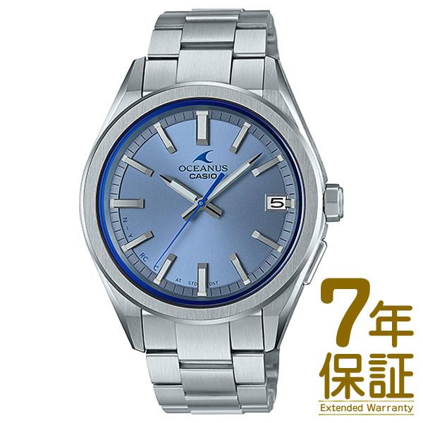 【正規品】CASIO カシオ 腕時計 OCW-T200S-2AJF メンズ OCEANUS オシアナス 3 HANDS MODELS 電波ソーラー Bluetooth対応