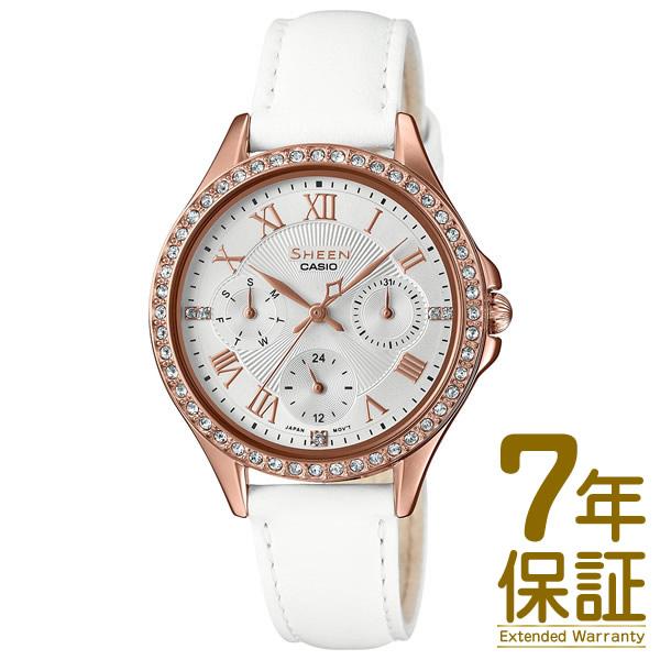 【正規品】CASIO カシオ 腕時計 SHE-3062PGL-7AJF レディース SHEEN シーン スワロフスキークリスタル