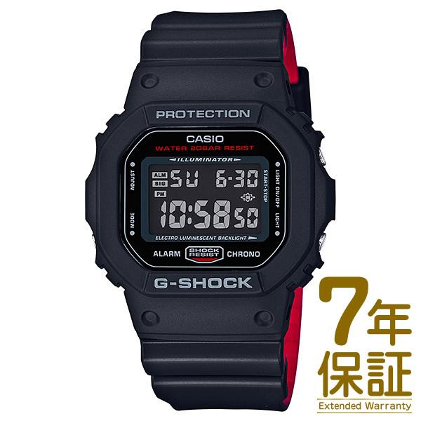 【正規品】CASIO カシオ 腕時計 DW-5600HR-1JF メンズ G-SHOCK Gショック Black & Red Series ブラック&レッドシリーズ