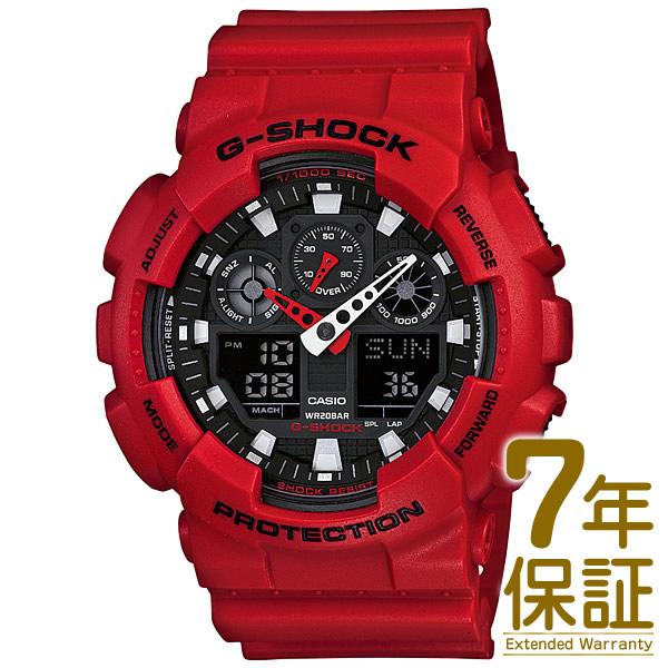 【国内正規品】CASIO カシオ 腕時計 GA-100B-4AJF メンズ G-SHOCK Gショック